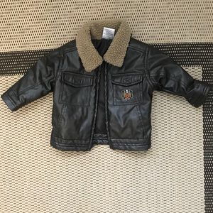 Infant boy bomber jacket
